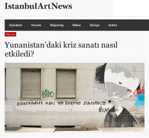 P. Arapinis & T. Moutsopoulos' interview at Istanbul Art News